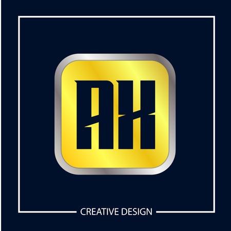 Initial Letter AX Logo Template Design Vector Illustration