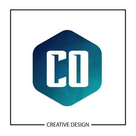Initial Letter CO Logo Template Design Vector Illustration