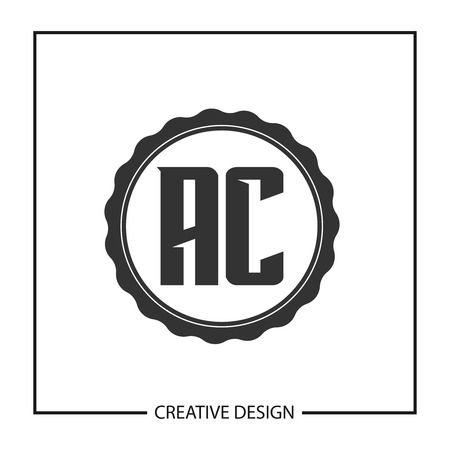 Initial Letter AC Logo Template Design Vector Illustration
