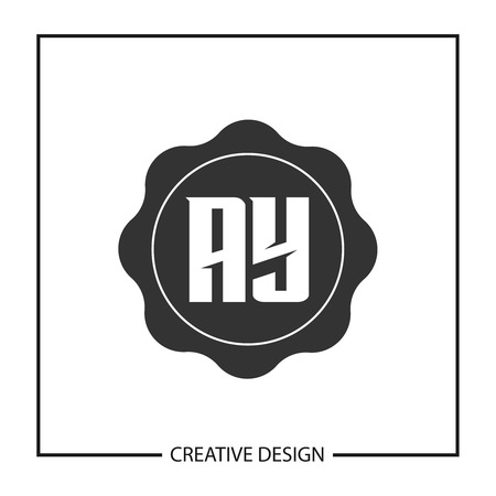 Initial Letter AY Logo Template Design Vector Illustration Stock Vector - 113338488
