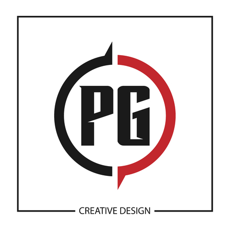 Initial Letter PG Logo Template Design Vector Illustration Logó