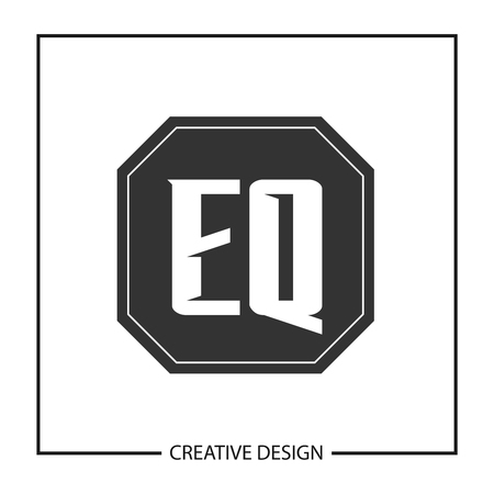 Initial Letter EQ Logo Template Design Vector Illustration