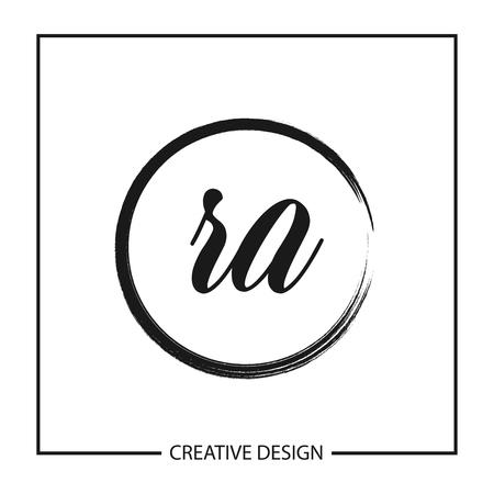 Initial Letter RA Logo Template Design Vector Illustration Logo