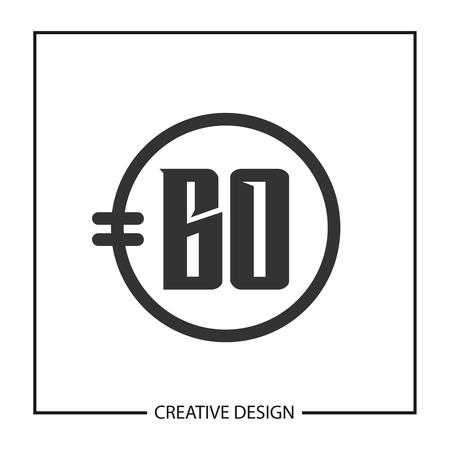 Initial Letter BO Logo Template Design Vector Illustration