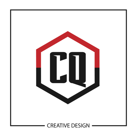 Initial Letter CQ Logo Template Design Vector Illustration
