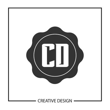 Initial Letter CD Logo Template Design Vector Illustration Logo