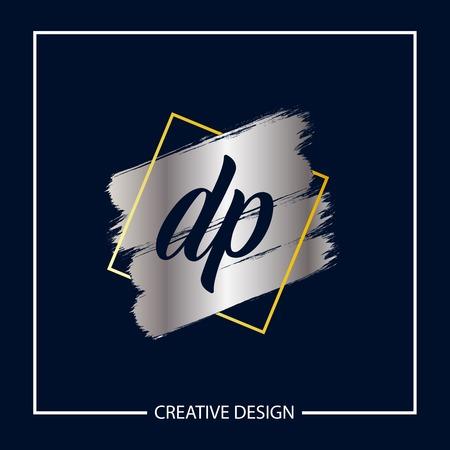Initial Letter DP Logo Template Design Vector Illustration