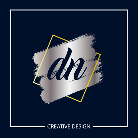 Initial Letter DN Logo Template Design Vector Illustration Logo