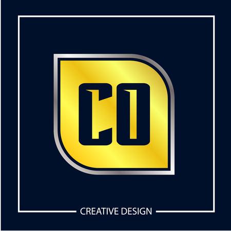 Initial Letter CO Logo Template Design Vector Illustration Logo