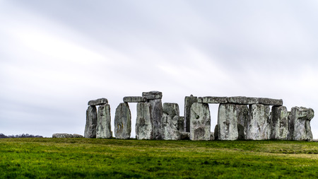 wiltshire: Stonehenge is a prehistoric monument located in Wiltshire, England. Stock Photo