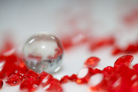 Beautiful background (red crystal strass ) for celebration occasions