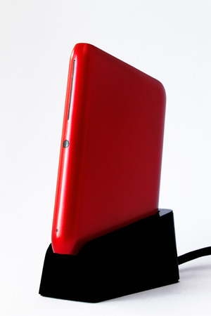 portable hard disk: External Hard disk Stock Photo