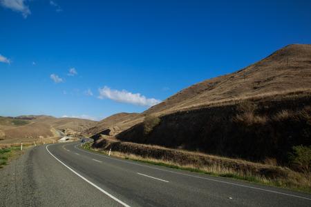 newzealand: ROAD IN SOUTH ISLAND NEWZEALAND