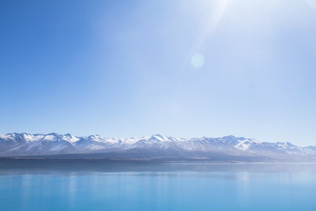 tekapo: LAKE TEKAPO SOUTH ISLAND NEW ZEALAND