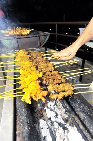 griller: Barbecue Satay