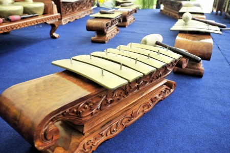 Gamelan Music Instruent Saron Stock Photo - 5340044