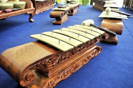 Gamelan Music Instruent Saron Stock Photo - 5340044