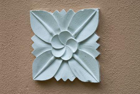 Balinese stone craft art design  photo