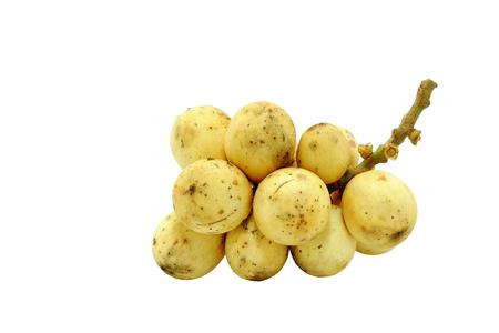 lanzones: Longkong, Langsat or Lanzones fruit is endemic to Southeast Asia.