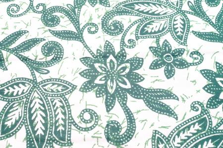Patroon voor traditionele kleding Maleisië met batik textuur.