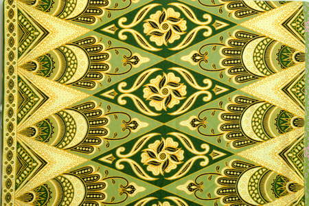 inexpensive: Pattern for traditional clothes malaysia with batik texture.
