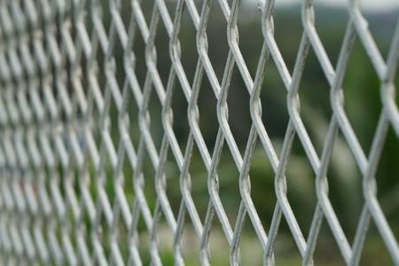 metal grid: iron fence