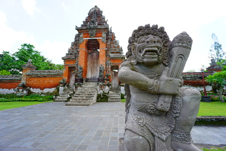 Taman Ayun Temple (Bali, Indonesia) Stock Photo