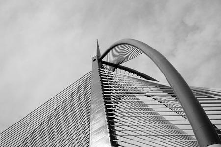 Seri Wawasan Bridge at Putrajaya, Malaysia