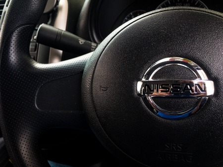 Interior shot of Nissan car. Nissan is one of Asia largest and most trusted brand in automotive industry. 