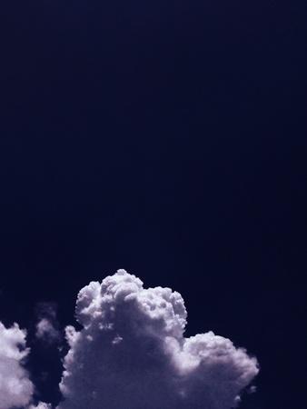 dark: Dark blue sky with clouds
