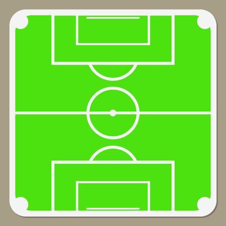 녹색의 축구 경기장, 제어 전략 및 형성을위한 기본 개념