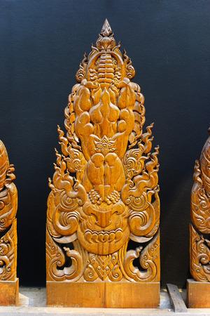 gratifying: Thai Art piece Wooden in Chiang Rai
