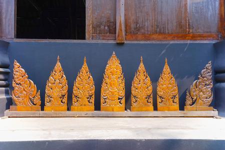 gratifying: Ornament Thai Art piece Wooden in Chiang Rai