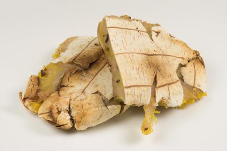 rich flavor: Thai Grilled Banana Dessert Stock Photo