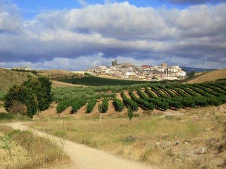 spanisch villige Stock Photo