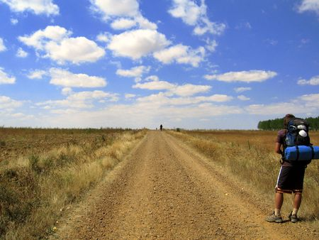 camino de santiago: camino de santiago