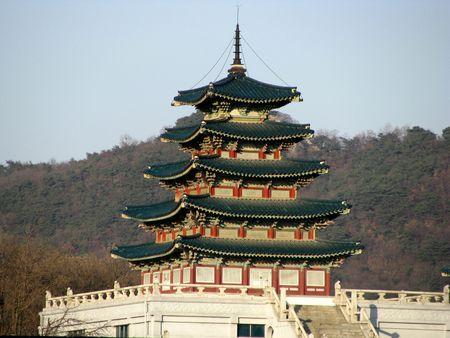 pagoda in seoul Stock Photo
