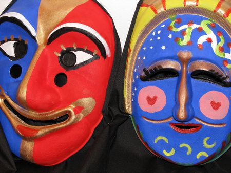 semblance: colorful masks from korea