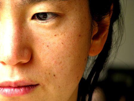 young pretty korean woman face Stock Photo - 4590372