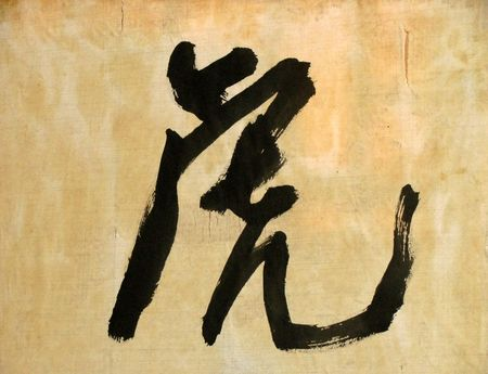 lingua: chinese character meaning tiger