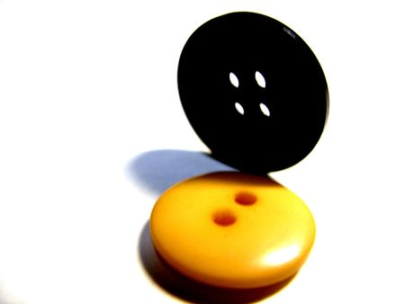 black and yellow buttons photo