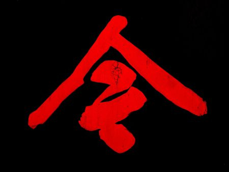 lingua: chinese character meaning now