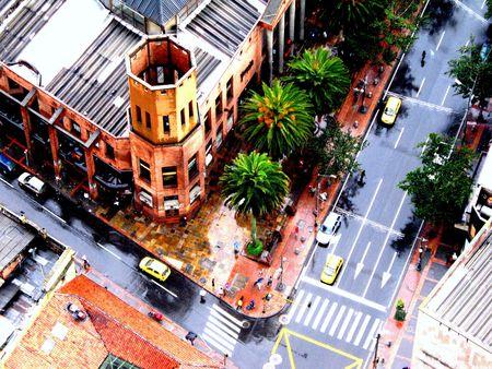 vacance: vista la citt� di Bogot�