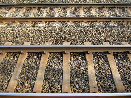 rail road in parellel