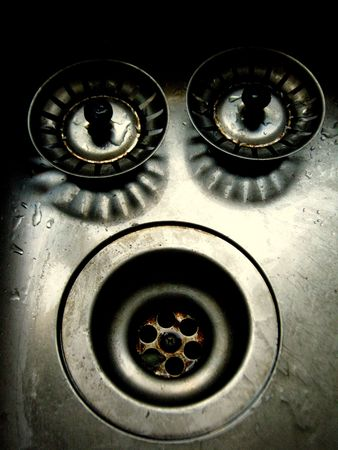 face in the kitchen sink Stock Photo - 7533353