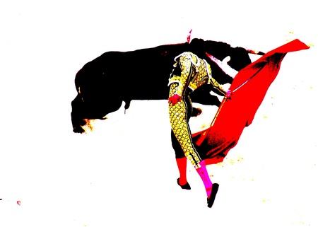 torero: bullfight in nimes in france