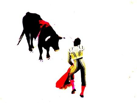 bullfight in nimes in france