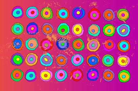 artistic color background