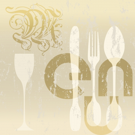 menu card design for restaurant Stock Vector - 16461008