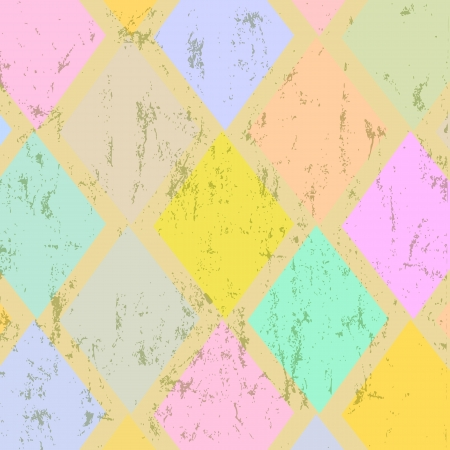 abstract geometric pattern background, retro vintage style, summer color photo